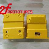 Cnc-schneller Prototyp-maschinell bearbeitenqualitätsaluminium/Kupfer/Stahlprägeprototyp-Teil