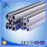 Quallity élevé 6005 6061 profil d'aluminium de fente de 6063 T
