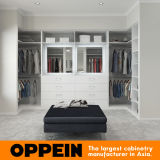 Шкаф самомоднейшего белого меламина Oppein Walk-in (YG17-M04)
