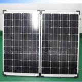 Подгонянная портативная складывая панель солнечных батарей 18V Mono 100W для располагаться лагерем