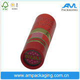 Tubo impaccante del documento del cartone del contenitore di rossetto di stampa con il meccanismo della resina
