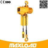 grua Chain elétrica da capacidade 3t com gancho
