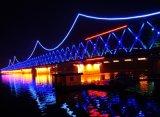 Iluminação de tira da luz W/Ww/R/G/B/Y da resistência de U/V para a decoração da ponte