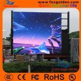 L'alta luminosità il RGB P10 dello schermo esterno impermeabilizza la pubblicità della visualizzazione di LED
