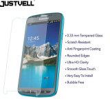 SamsungギャラクシーS4能動態のための緩和されたガラススクリーンの保護装置