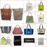 Baumwollsegeltuch-mehrfachverwendbare Handtaschen für das Einkaufen