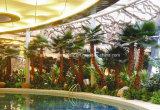 Украшение засаживает искусственную пальму Вашингтон
