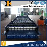 Prensa de batir de acero galvanizada trapezoide de la placa de material para techos de Kxd C18