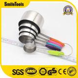 Cuvettes de mesure d'acier inoxydable et cuillères 5PCS/Set