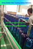 Máquina de enchimento automática do álcôol do frasco de vidro para o tampão de alumínio