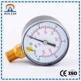 Manometro a temperatura elevata del fluido di pressione di esattezza in-linea del calibro