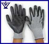 Перчатки прокола стопа перчаток уровня 5 Кевлар Нож-Упорные (SYSG-1122)