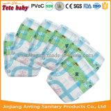 Оптовая продажа пеленки младенца абсорбциы дешевой устранимой пеленки младенца ультратонкая супер