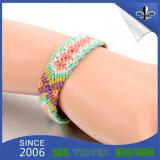 Förderung-Geschenk-Form-Armband gesponnene Firmenzeichen gesponnene Armband-Handgelenk-Brücke