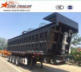 4 Ejes auto-dumping Semirremolque Volquete