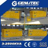Industriële Diesel 400kVA Perkins van het Gebruik Geluiddichte Generator (GPP400S)