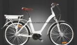 En15194公認700cレトロの中央モーター電気バイク