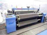 Tessuto di tessitura del denim del telaio di potere del getto dell'aria con la ratiera di Staubli
