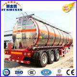 3 do eixo 52cbm da liga de alumínio do combustível da carga de petroleiro do caminhão reboque Semi