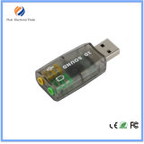 Heißer VerkaufExternal USB-virtuelle 5.1 Kanal-fehlerfreie Karte