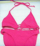 Красное Бикини для типа Бикини +Hot шнура Women+Triangle (XMF-r22)