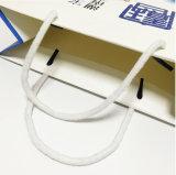 Impression à extrémité élevé de sac de papier d'achats