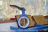 Pn16 Vleugelklep de Van uitstekende kwaliteit van het Type van Wafeltje Met Handvat