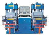Gummiheizungs-Vorlagenglas des silikon-350t, das Maschine mit der Vakuumpumpe hergestellt in China aushärtet