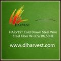 Fibra de aço concreta barata W-430/10/20st da alta qualidade para o refratário do reforço