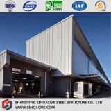 Entrepôt multi de logistique d'étage fait par la structure métallique