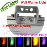 iluminação da arruela da parede do diodo emissor de luz DMX512 de 18PCS 3in1 com conetor masculino/fêmea 88304 18X3