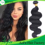 中国の信頼できる毛の工場供給のブラジルの毛100%の人間の毛髪の大きさ