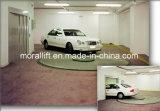 Resolver a plataforma giratória da entrada de automóveis do carro dos desafios do estacionamento da garagem