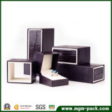 Коробка ювелирных изделий роскошной изготовленный на заказ упаковки пластичная