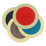 Colore Placemat tecido o poliéster 100% para o Tabletop