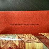 Plancher Shinning de roulis de PVC de support de feutre de surface
