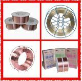 Fil H08A/H08mna de soudure à l'arc électrique du fil H08A (EL12) /H08mna (EM12K) /Submerged de soudure à l'arc électrique submergée