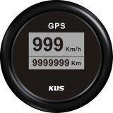 Backlight 12V 24V를 가진 대중적인 52mm Digital LED GPS Speedometer Velometer 0-999 (km/h MPH 매듭)