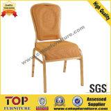 Cojín curva de la silla del banquete de aluminio cómodo