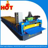 Colorer le roulis ondulé en acier de feuille de toit formant la machine