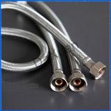 Conducto galvanizado extremo del metal flexible del NPT del bramido 1 del borde