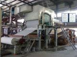 línea automática 12-16tpd del tejido de la máquina de la fabricación de papel de tejido del cilindro del secador de 5600m m sola