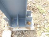 Taller ligero de la estructura de acero del almacén de la estructura de acero (BYSS012204)