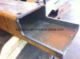 Tubo de la estructura de acero/cortadora del plasma del CNC hueco del tubo/del perfil