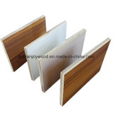 Madera contrachapada de la melamina/madera contrachapada comercial, madera contrachapada con el papel de la melamina