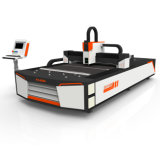 Цена автомата для резки лазера волокна нержавеющей стали 500W 1000W вырезывания металла