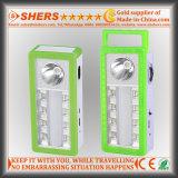Het draagbare Zonne LEIDENE Licht van de Noodsituatie met 1W Flitslicht, USB (sh-1904A)