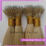 Prebonded U-Derruba a extensão do cabelo de Remy da queratina do cabelo do prego