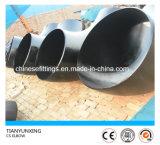 Локоть стальной трубы углерода A234wpb сваренный прикладом Lr 90degree