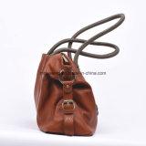 Saco de ombro de couro do saco de Tote da bolsa das mulheres populares da venda por atacado quente da fábrica da venda